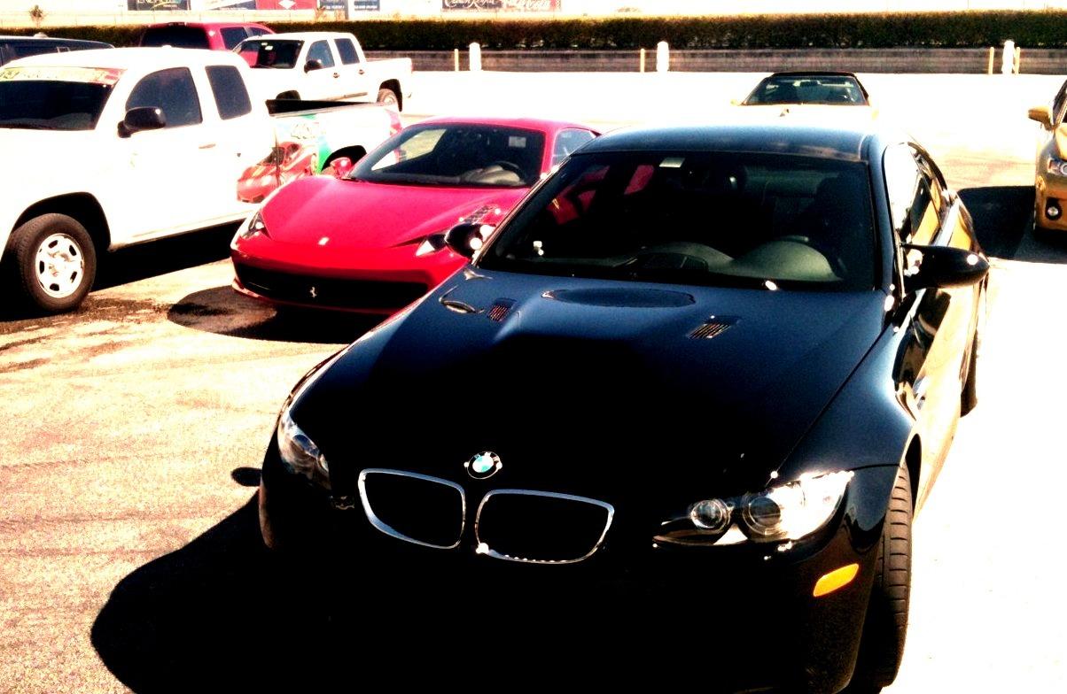 Ferrari 458 Italia and BMW E92 M3