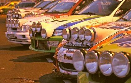 Mitsubishi Lancer, Porsche 911 and Ford Fiesta