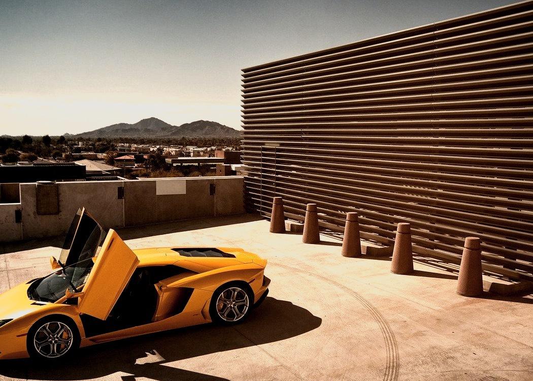 2012 Lamborghini Aventador LP700-4 Coupe