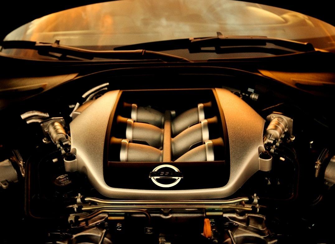Nissan GT-R Engine Bay