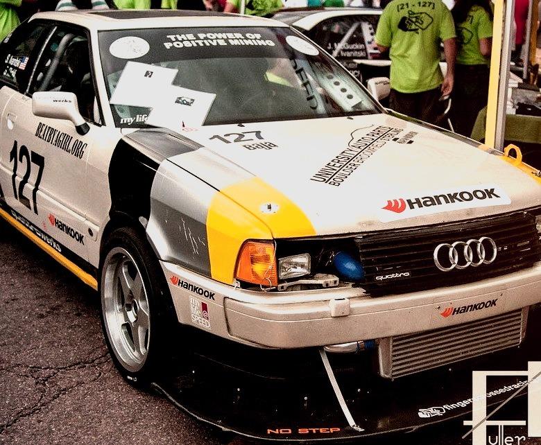 91 Audi Quattro Coupe