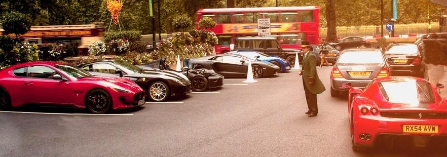 Ferrari Enzo and 599, Maserati Granturismo, Mercedes S-Class, KTM XBow, Lamborghini Aventador and Gumpert Apollo