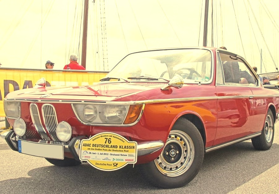 69 BMW 2000 CS