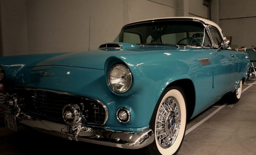 56 Ford Thunderbird