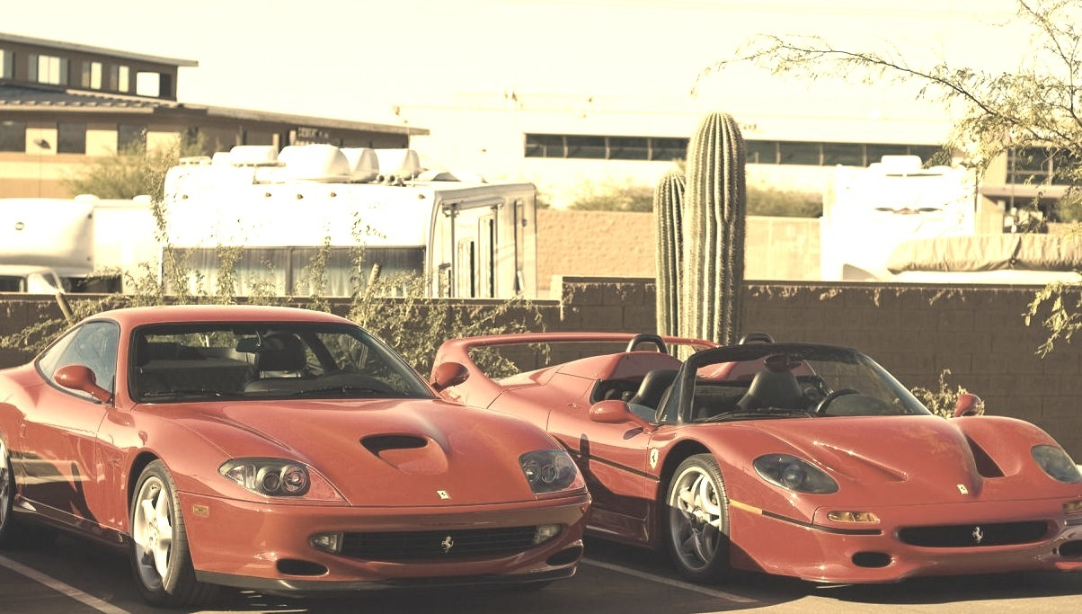 Ferrari 550 Maranello and F50