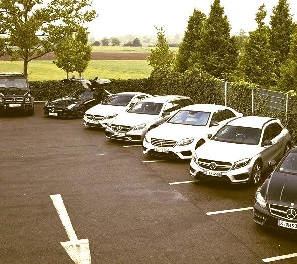 Mercedes-Benz AMG line up