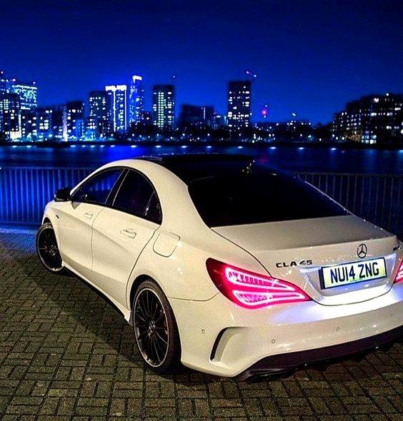 Mercedes-Benz CLA 45 AMG (Instagram @mercedesbenz)