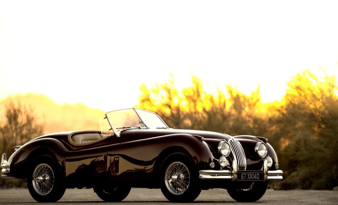 1957 Jaguar XK140 M Roadster