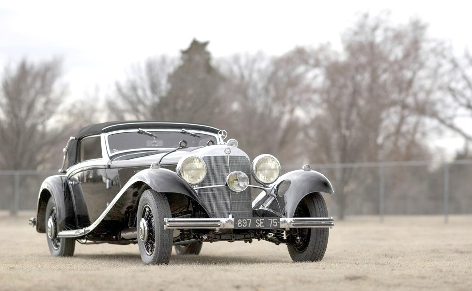 1935 Mercedes-Benz 500/540 K Cabriolet A by Sindelfingen Sold earlier today by RM Sothebys for more than $3,000,000.00.