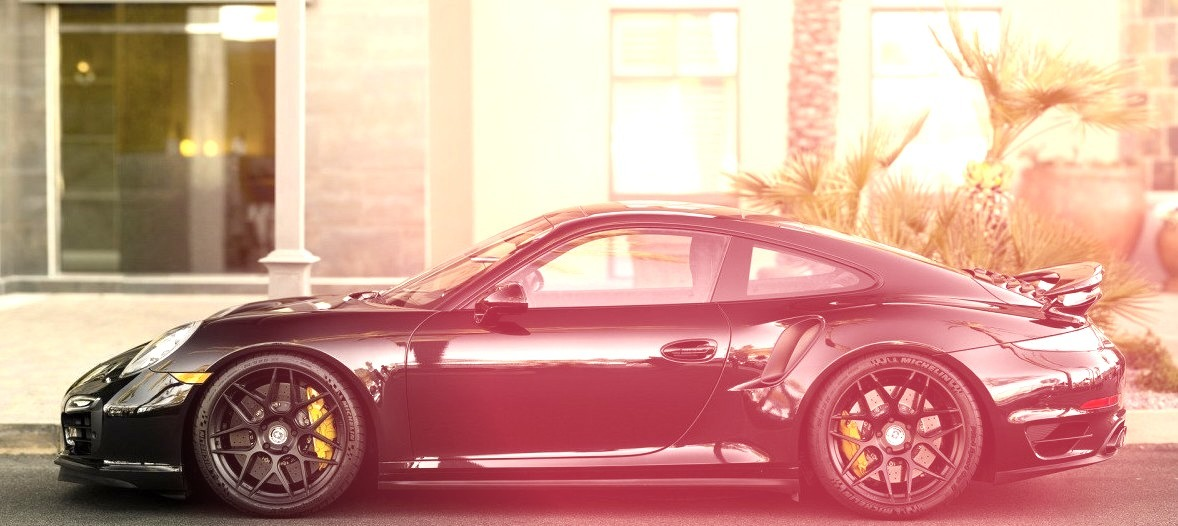 Porsche 911 Turbo (991) with HRE Wheels