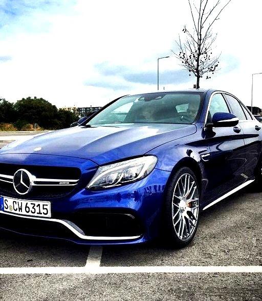 Mercedes-Benz C 63 S AMG (Instagram @mrdes)